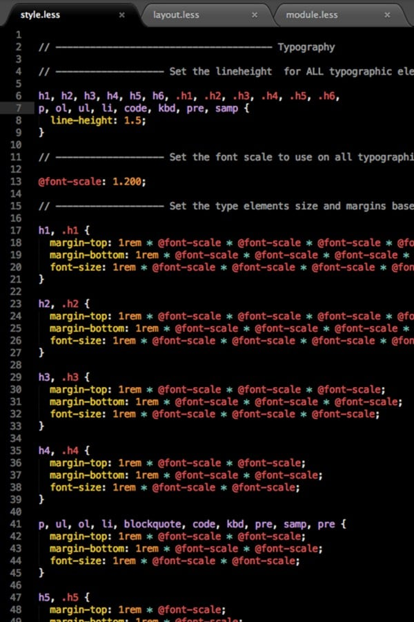 Code for the Photoworks website