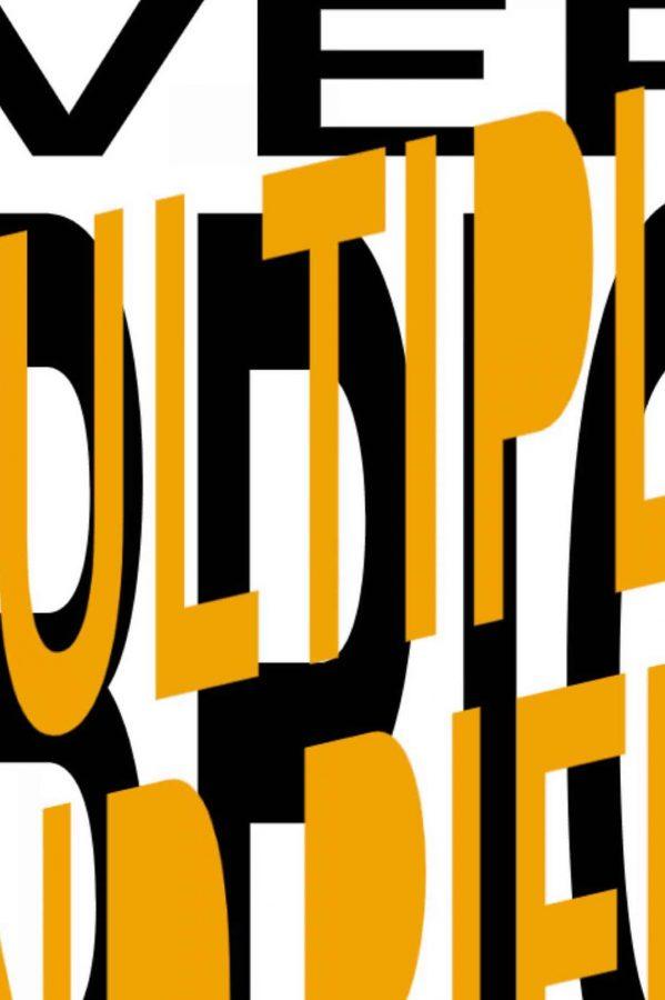 Layered typography