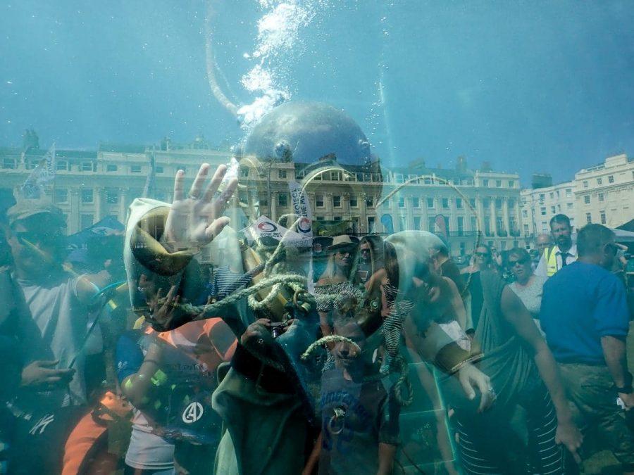 Underwater?
