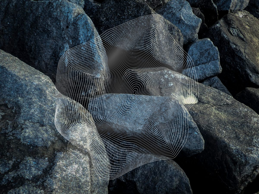 Rocks and lines